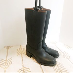 Frye Tall black leather boots